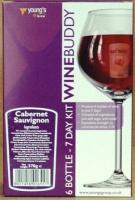 Winebuddy Cabernet Sauvignon - 6 bottle red wine kit