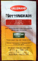 Danstar Nottingham Dry brewing yeast - sachet