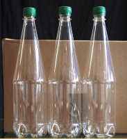 PET Clear Beer Bottles for storing homebrewed beer, cider or lager - 1ltr