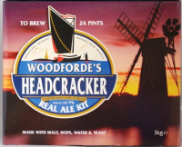 Woodfordes Headcracker Norfolk Ale - 24 pint beer kit