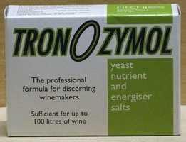 Tronozymol yeast nutrient - 100gms
