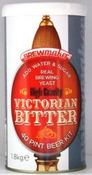 Brewmaker Victorian Bitter homebrew kit