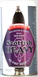 Brewmaker Scottish Heavy 80/- homebrew beer kit