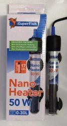 Thermostatic Heater - short length 50W Nano heater