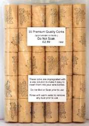 Premium Quality Corks - 30s