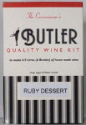 "Connoisseur's Butler's ""Port"" Style Ruby Dessert Wine Kit - 6 Bottle kit"