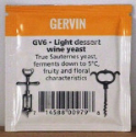 Gervin GV6 Light Dessert Wine Yeast - sachet