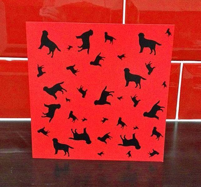 Labrador Retriever Blank Greeting Note Card