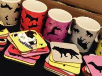 Dog And Cat Mugs And Coasters
