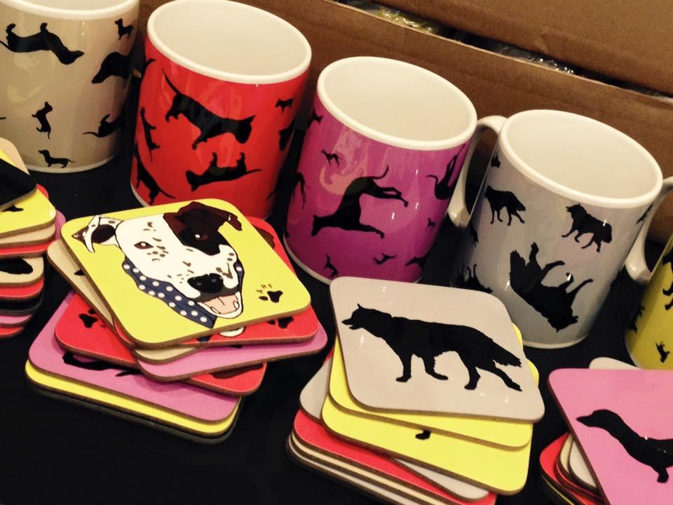 Dog And Cat Mugs And Coasters