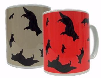 German Shepherd GSD Dog Silhouette Alsatian Ceramic Mug