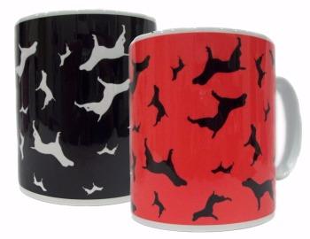 Pointer Dog Silhouette GSP Ceramic Mug
