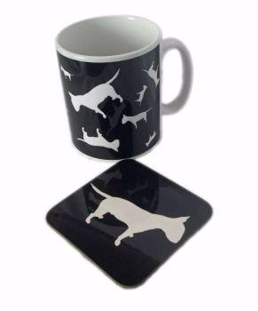 ZukieStyle Mug And Coaster Sets