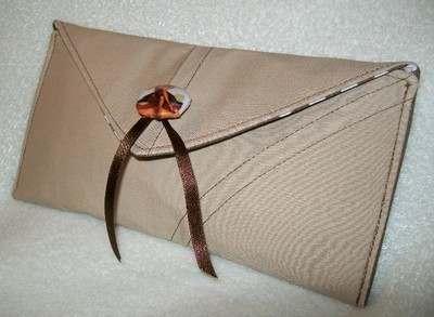 Nude Pin-up & Polka-dot Clutch Bag