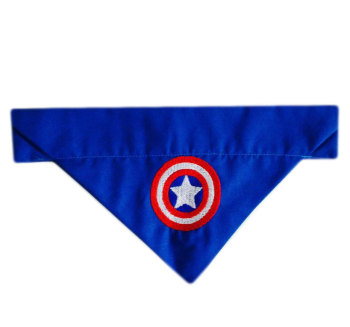 Captain America Avengers Marvel Superhero Dog Bandana