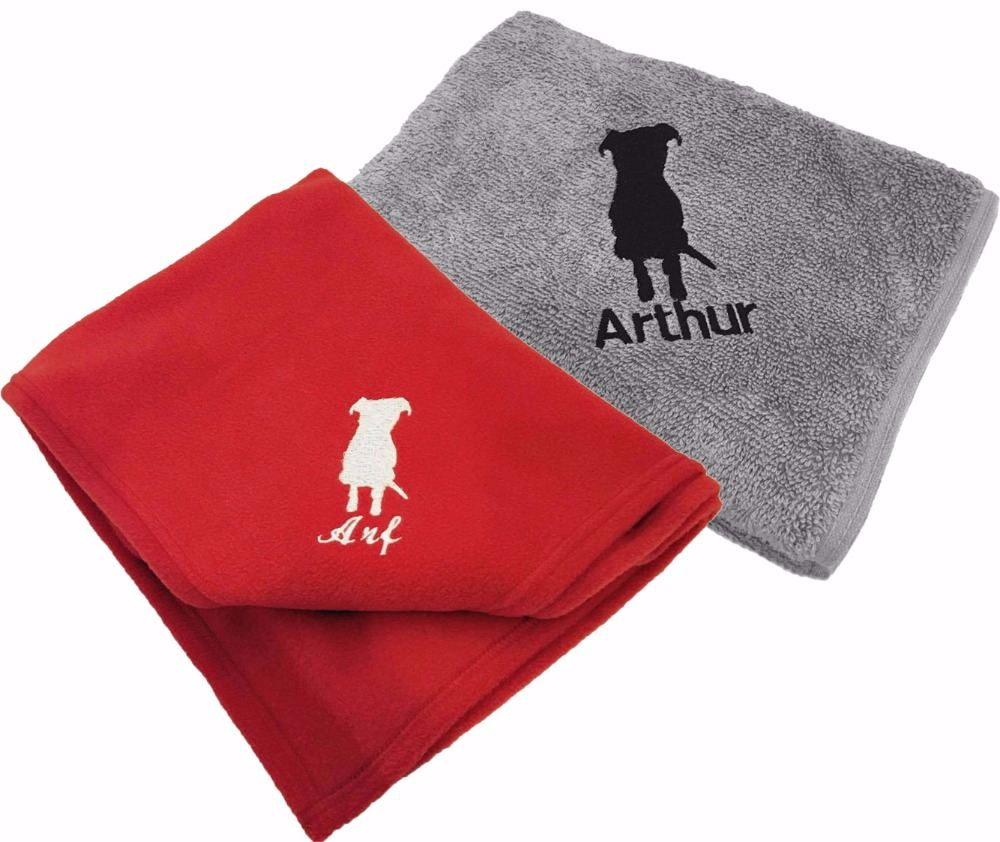 Personalised Towels And Fleece Blankets