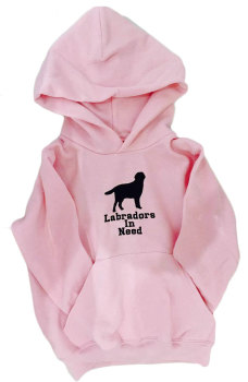 Childrens animal silhouette breed specific embroidered dog cat hoody