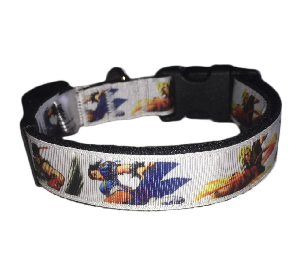 Official Street Fighter Licensed Classic Adjustable Dog Collar