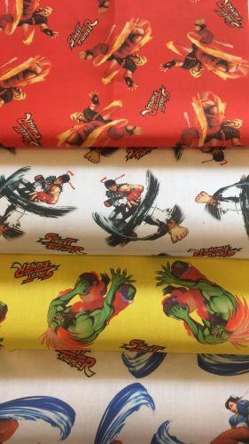 Street Fighter classic fabrics