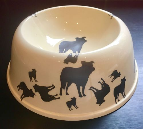 Border Collie Pet Bowl