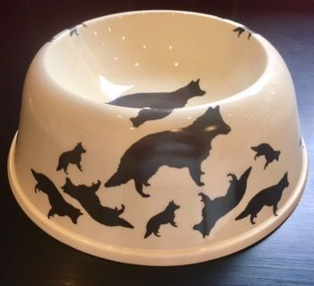 German Shepherd/ Alsatian/ GSD Pet Bowl