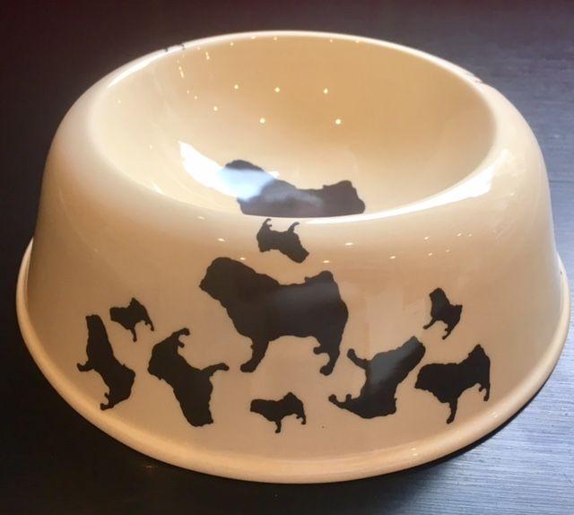 Pug Pet Bowl