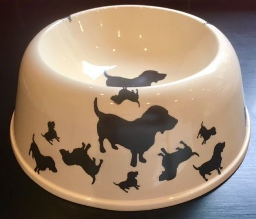 Basset Hound Pet Bowl