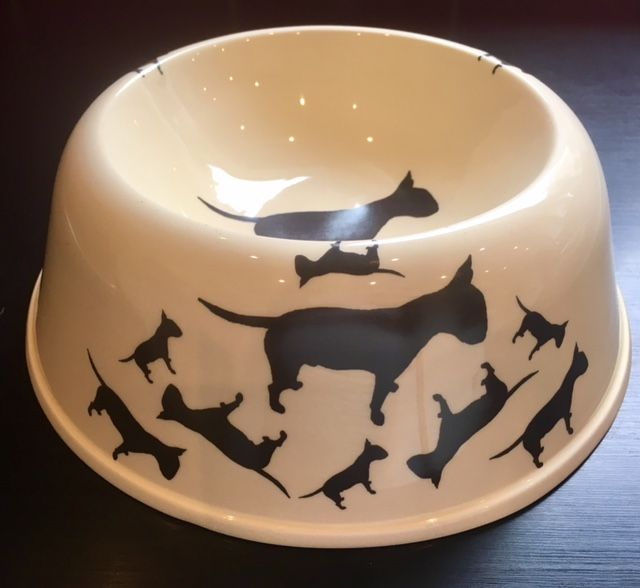 English Bull Terrier Pet Bowl