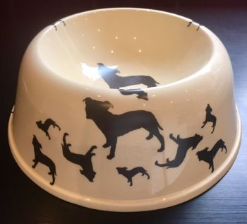 Staffordshire Bull Terrier Pet Bowl