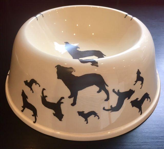 Staffordshire Bull Terrier Pet Bowl