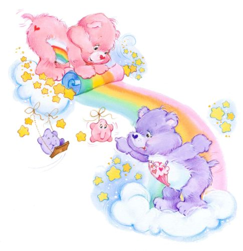 Share-Bear-And-Cheer-Bear-Rainbow