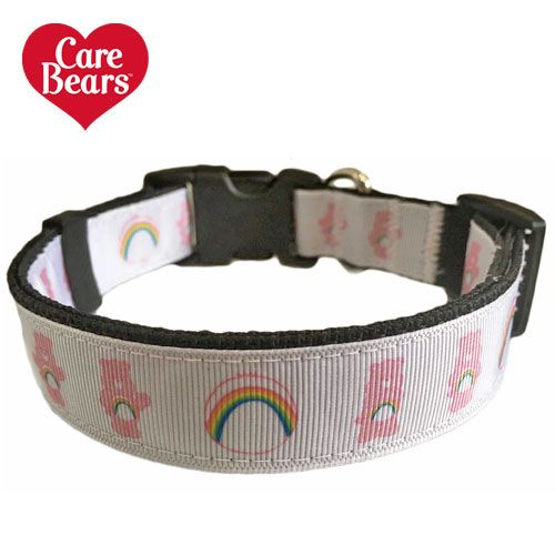 Cheer Bear Care Bear Adjustable Dog Collar Carebears Cheerbear