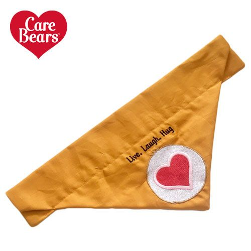Tenderheart Bear Care Bears Belly Badge Icon Dog And Cat Bandana
