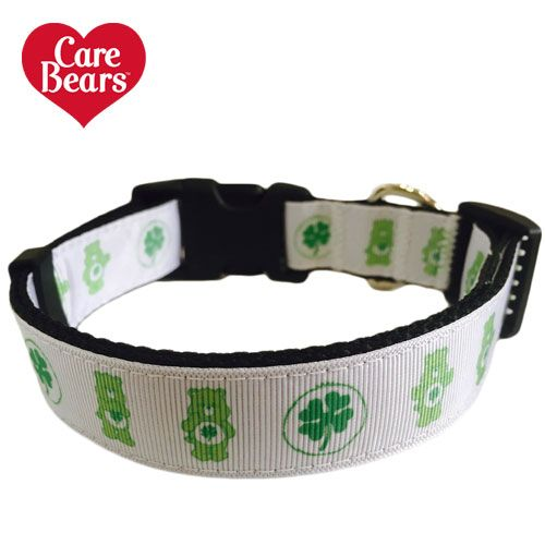 Good Luck Bear Care Bears Adjustable Dog Collar