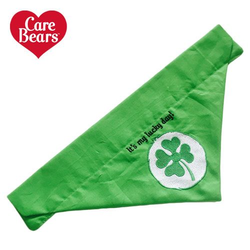 Good Luck Bear Care Bears Belly Badge Icon Dog And Cat Bandana