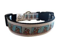 Garfield And Odie Comic Strip Adjustable Dog Collar
