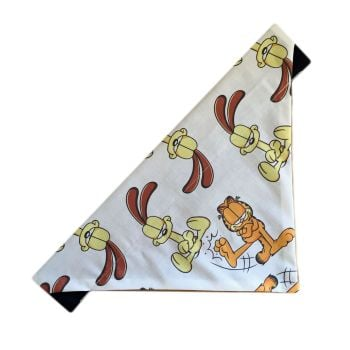 Garfield Odie Character Repeat Print Dog And Cat Repeat Print Bandana