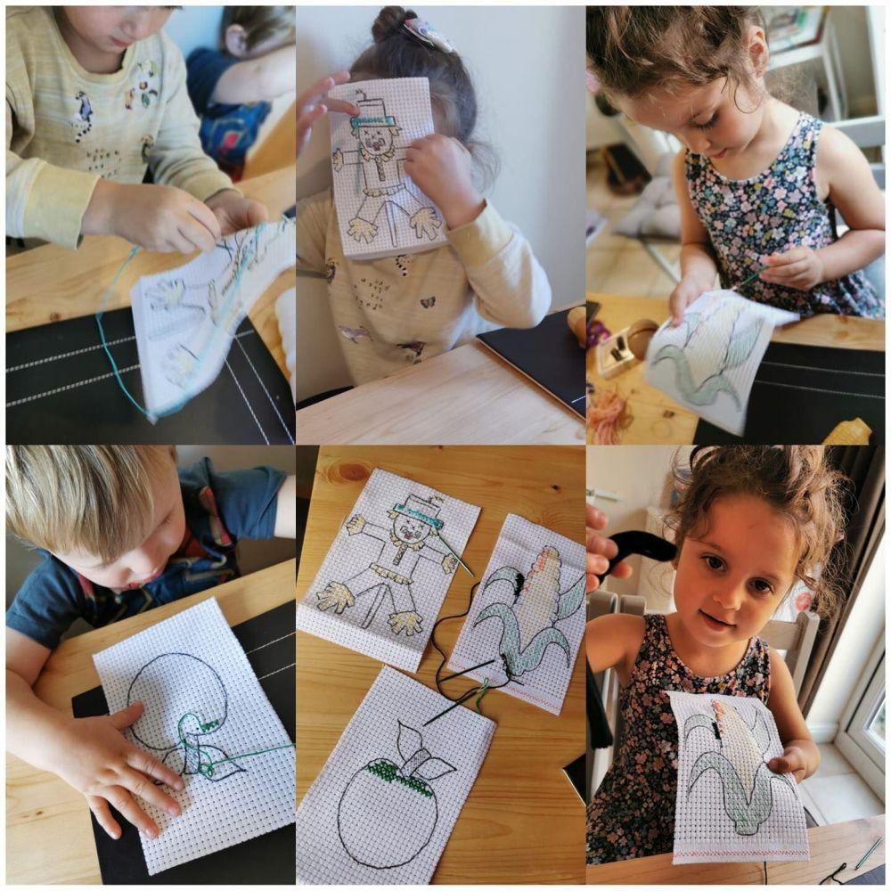 Childrens Cross Stitch Kit