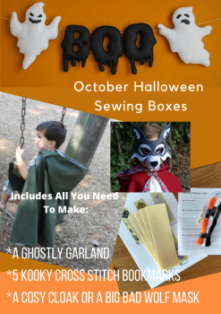 October Halloween Childrens Sewing Subscription Box