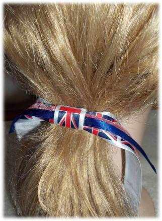 Britain hair tie A
