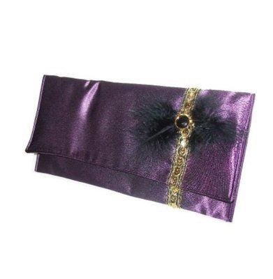 Bambi oversized burlesque inspired clutch bag