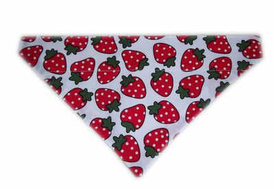 Strawberry shortcake dog bandana