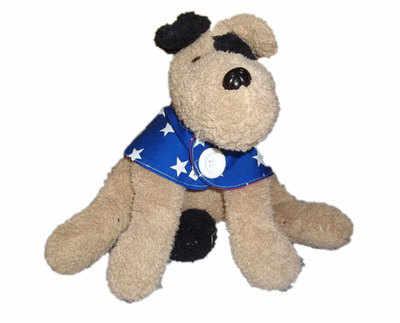 Blue Star Puppy Power Dog Cape