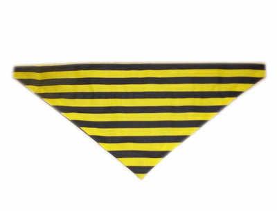 Bumblebee dog bandana