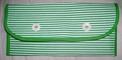 Stripey Clutch (Apple)
