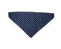 Blue And White Polka Dot Cat Bandana