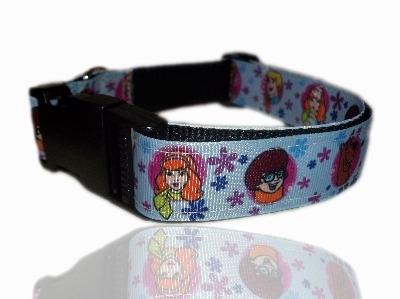 Scooby Doo Daphne Fred Velma Dog Collar