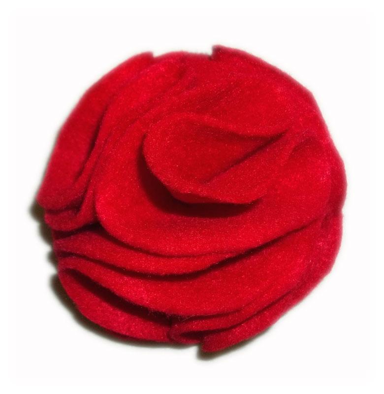 Red Dog Collar Flower B