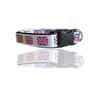 UK British Union Small Dog Puppy Collar