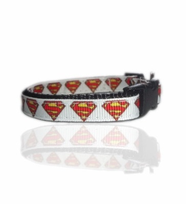 Superman Superpup Small Dog Puppy Collar